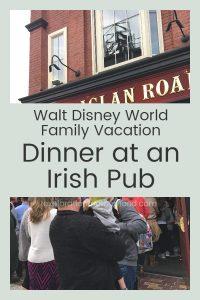 We've arrived at Walt Disney World!  Read from our travel journal as we check in to Coronado Springs resort and grab dinner at Raglan Road! #WaltDisneyWorld #Disneyvacation #CoronadoSprings #familyvacation #Disneytrip #Irishpub