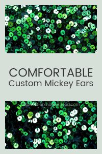 Shop custom Mickey ears from Etsy wih us!  From toddler ears to Anna and Elsa Minni ears, get comfortable Mickey ears for your next Walt Disney World trip with some of our favorite shops! explorationmotherhood.com #waltdisneyworld #mickeyears #minnieears #disney #thingstobuy #customears #annaandelsa #sisterstyle #disneyaddict