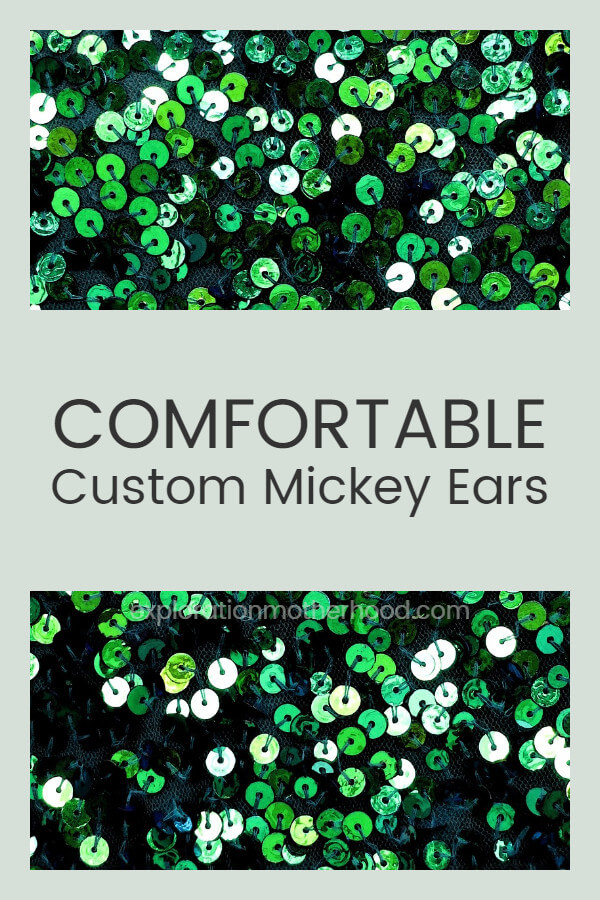 Comfortable Custom Mickey Ears!