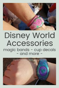 We got all kinds of accessories for our trip to Walt Disney World- custom magic band deccals, cup decals, and more Disney fun!  See exactly what we bought on Etsy!  Shop links included. explorationmotherhood.com #Disney #WaltDisneyWorld #magicbands #magicbanddecals #decals #Disneydecals #puckdecal #cupdecal #custommagicbands #Disneyfamily #familyvacation #disneyaccessories #customDisney #Disneyfun #etsy