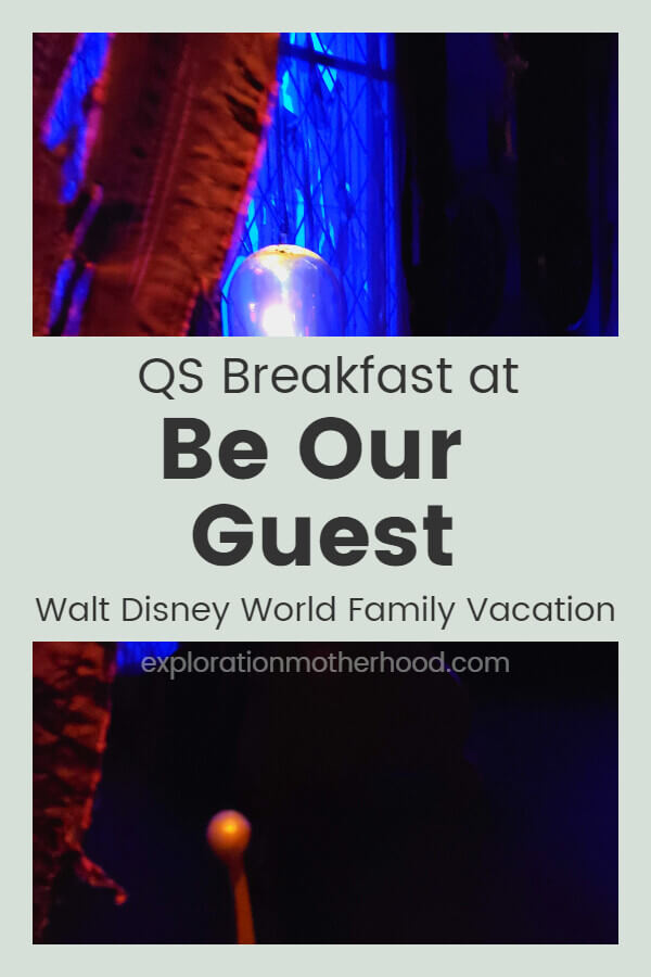Be Our Guest Quick Service Breakfast
