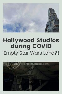 Hollywood Studios during COVID (Empty Star Wars Land?!)