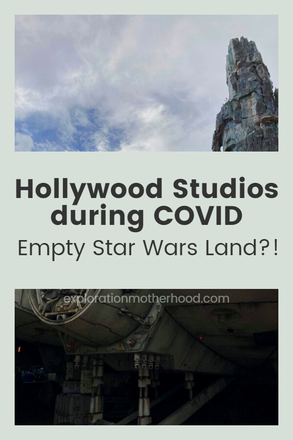 A Trip to Hollywood Studios during COVID (Empty Star Wars Land?!)