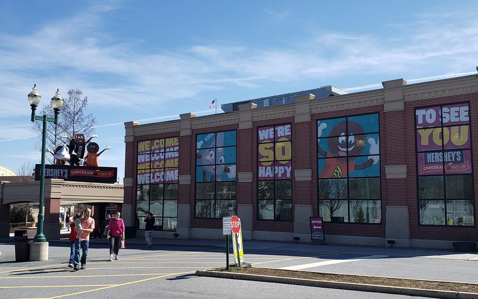 Chocolate World in Hershsey, PA